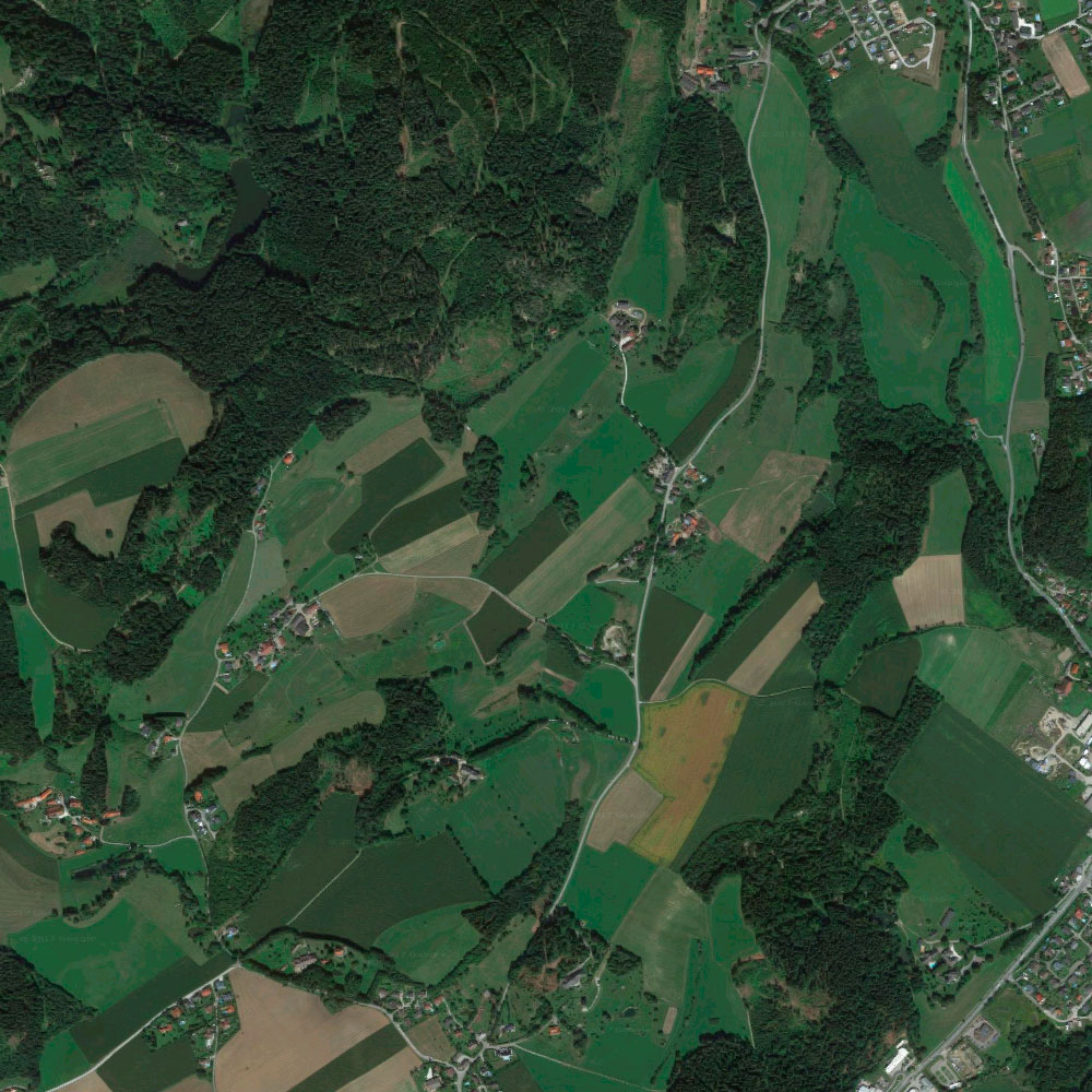 Radstrecke des Kraigersee Triathlons